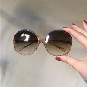 chic ombré vintage sunglasses